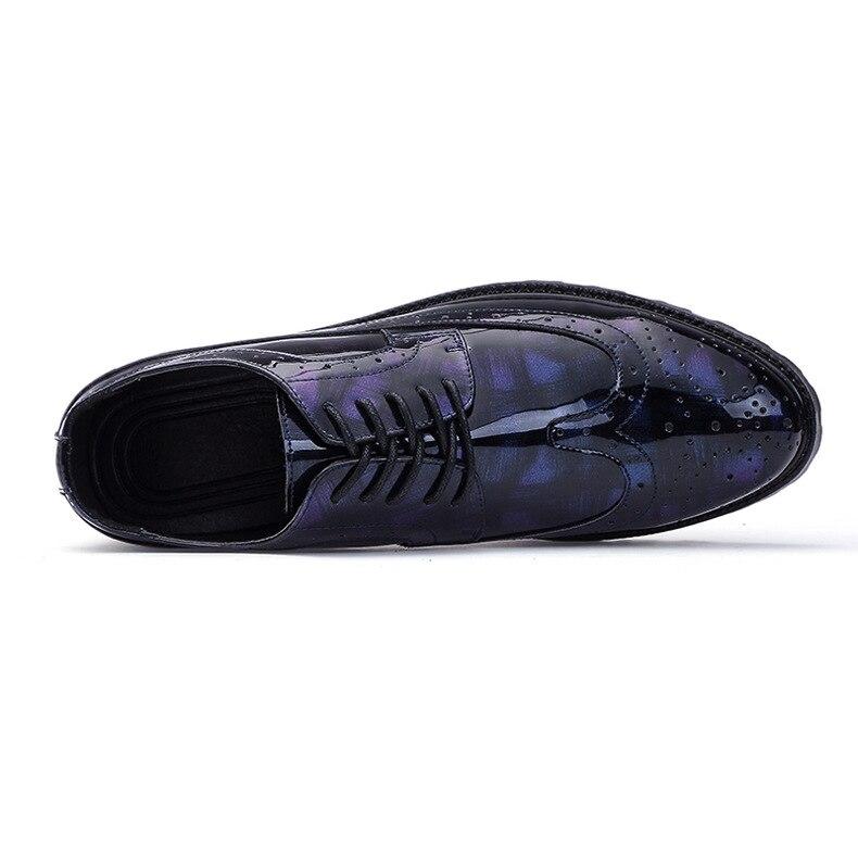 De Richelieu Bleu Partie Robe Noir Véritable black Grey Italien Black Gris Mariage Chaussures En Hommes Cuir Richelieus Formelle Grey Luxe RwrqxfPR