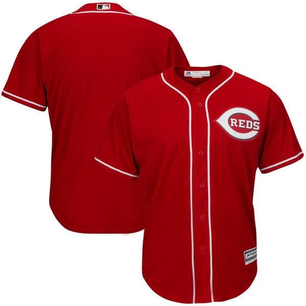 MLB Mens Cincinnati Reds Baseball White Home Big & Tall Cool Base Team Jersey