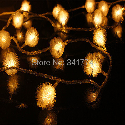 Color Changing Christmas Lights Outdoors: Novelty 10m 68 LED Cherry Ball string lamps lumina.,Lighting