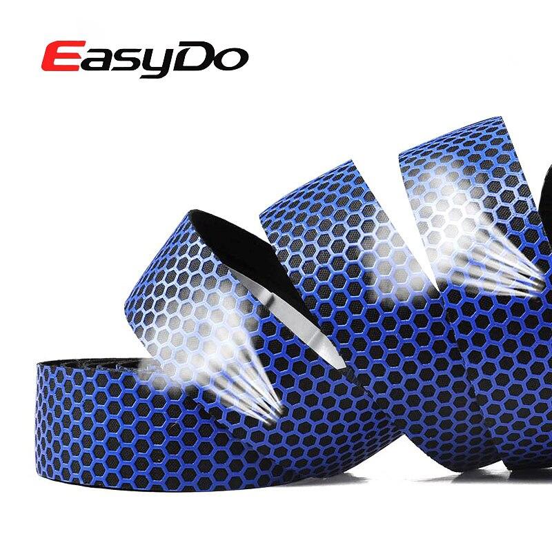 EasyDo óculos Anti-Slip Silicone Bicicleta de Estrada Fita Guiador Cinto Macio Tridimensional Favo De Mel Respirável Ultraleve Bicicleta Fita Bar