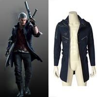 Игра Devil May Cry 5 костюм куртка DMC5 nero, для косплея костюм Дьявол Охотник Nero костюм для взрослых мужчин Хэллоуин наряд на заказ