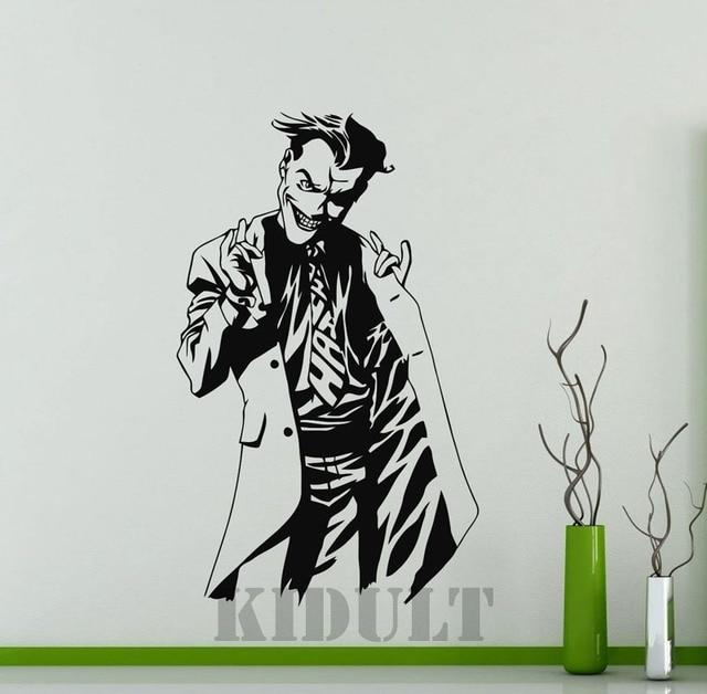 Clown Wall Stickers Jack Dc Marvel Comics Superhero Vinyl