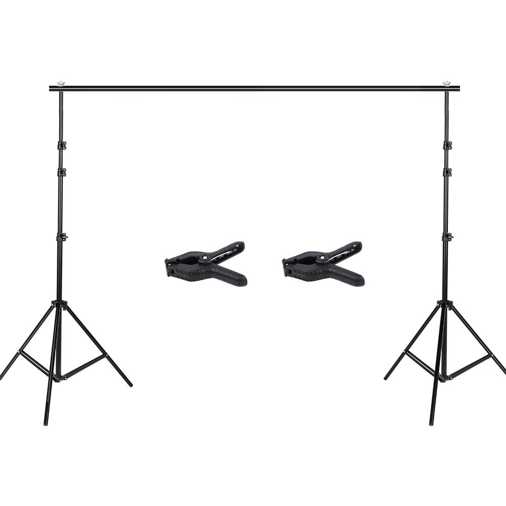 Photographie 2.6x3 m Photo Studio toile de fond Support Support Kit