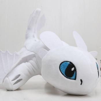 55cm 22cm 33cm 40cm Train Dragon Toothless Dragon Soft Stuffed Animal Plush Toys Juguetes de Peluches Bebe 14