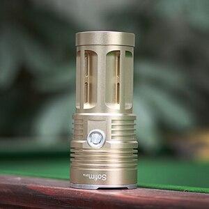 Image 5 - Sofirn 18 * T6 強力な LED 懐中電灯ハイパワー懐中電灯 18650 サーチライトトーチライトハントキャンプ自転車ライト
