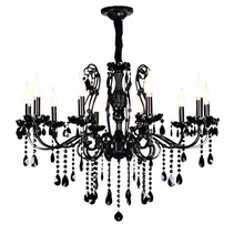 Buy contemporary black chandelier and get free shipping on flush mount crystal chandelier vintage wrought iron chandelier lighting black contemporary chandeliers kitchen black chandelier aloadofball Images