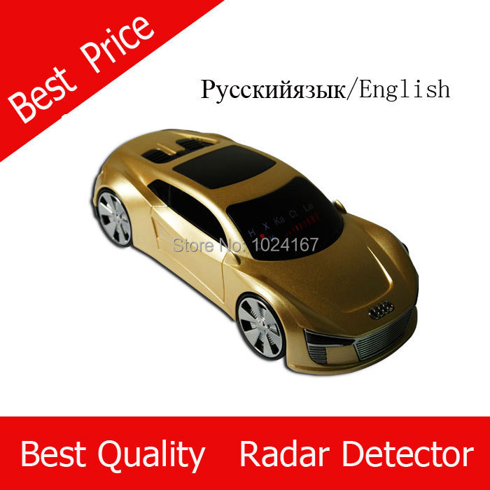 Whole sale price voice alerting radar detector English and Russian option Best quality