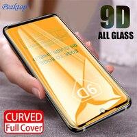 5 uds 9D de la cubierta completa Pantalla de Cristal Protector para Xiaomi mi 9 A2 8 Lite Mi A1 de vidrio templado para Xiaomi Redmi Nota 7 5 6 Pro 6A S2