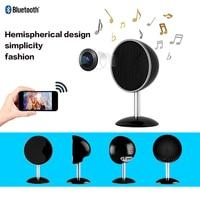 HD 1080P WiFi Camera of Bluetooth Speaker Night Vision APP Remote Mini Camcorder Micro Cam Video Audio Recorder Wireless Webcam