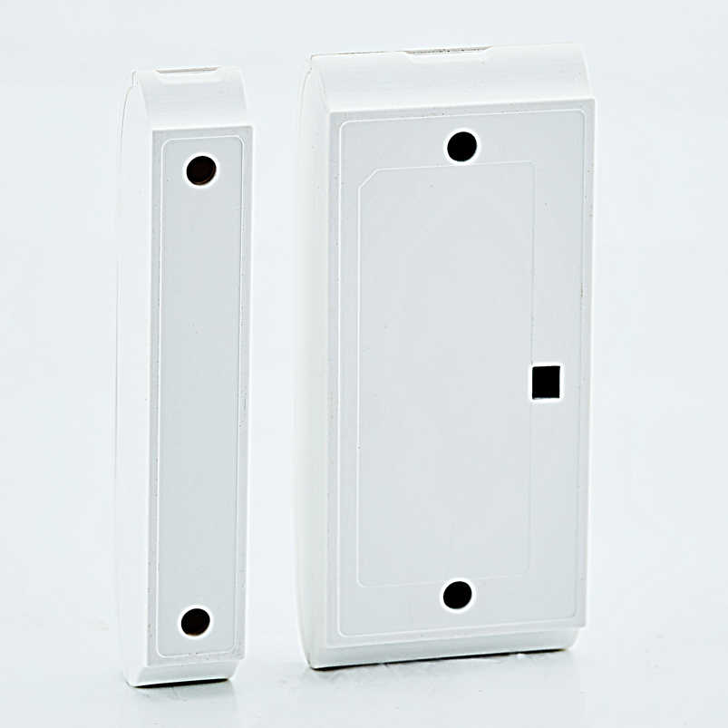 Nirkabel Menjaga Pintu Jendela Sensor Magnet Detector untuk 433 MHZ Rumah Keamanan Detector O2B G2B Sistem Alarm Kit