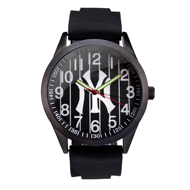 MLB time square Fashion Simple Casual sport Watch silicone Band Waterproof men Watches Quartz men's Wrist Watch Clock SD007 curren men s fashion and casual simple quartz sport wrist watch
