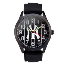 MLB time square  Fashion Simple Casual sport Watch silicone Band Waterproof  men  Watches Quartz men's Wrist Watch Clock SD007
