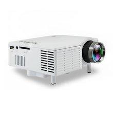 UC28B мини Портативный светодиодный проектор 1080P Семья Кино дома Театр USB TF карты Вход мини-проектор штепсельная вилка европейского стандарта