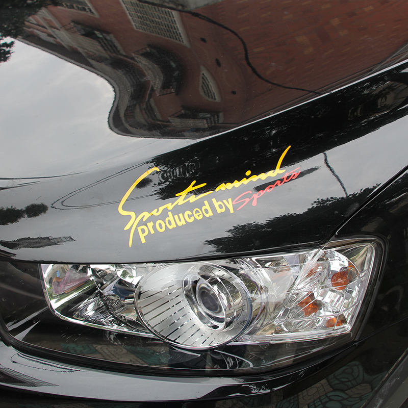 free shipping car headlight brow sport sticker car styling for subaru xv forester outback legacy impreza brz