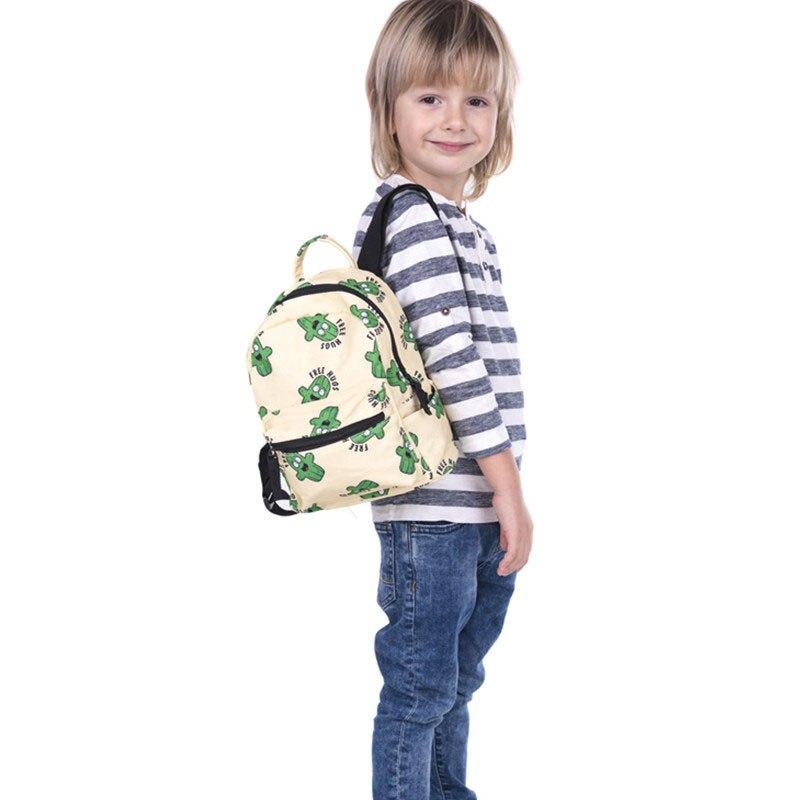 Kids School Bags 3D Printing Design Backpack Schoolbag Waterproof Nylon School Bags For Girls Boys Children Backpacks