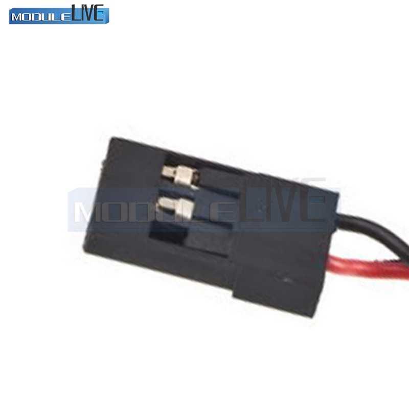 YKS RC модель 7 светодиодный приемник индикатор напряжения батареи монитор Автомобильный 7 светодиодный 4,8 в 6 в Индикатор низкого напряжения