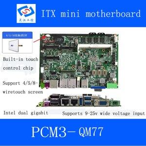 Image 4 - Yüksek kaliteli intel core i7 3537U İşlemci 4Gb Ram bellek endüstriyel anakart serisi Mini ITX anakart