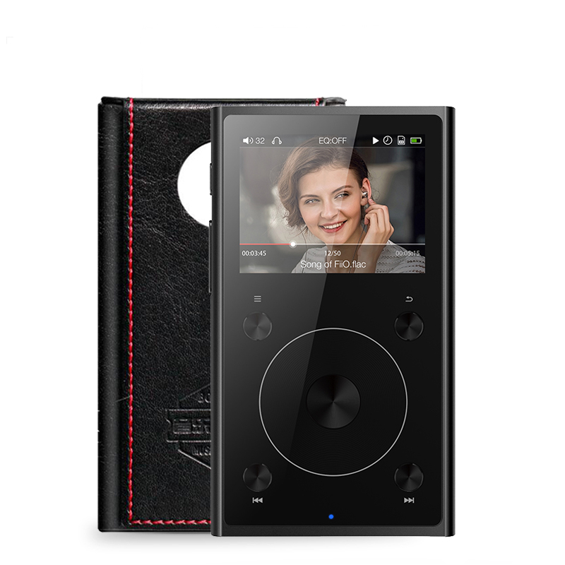 Fiio X1 II (+case free ) X1 2nd gen 192 kHz/32 bit Dual mode Bluetooth 4.0 Portable High Resolution Lossless Music Player  X1ii