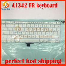 A1342 FR France French keyboard for macbook 13.3 A1342 2009 2010year French AZERTY Layout