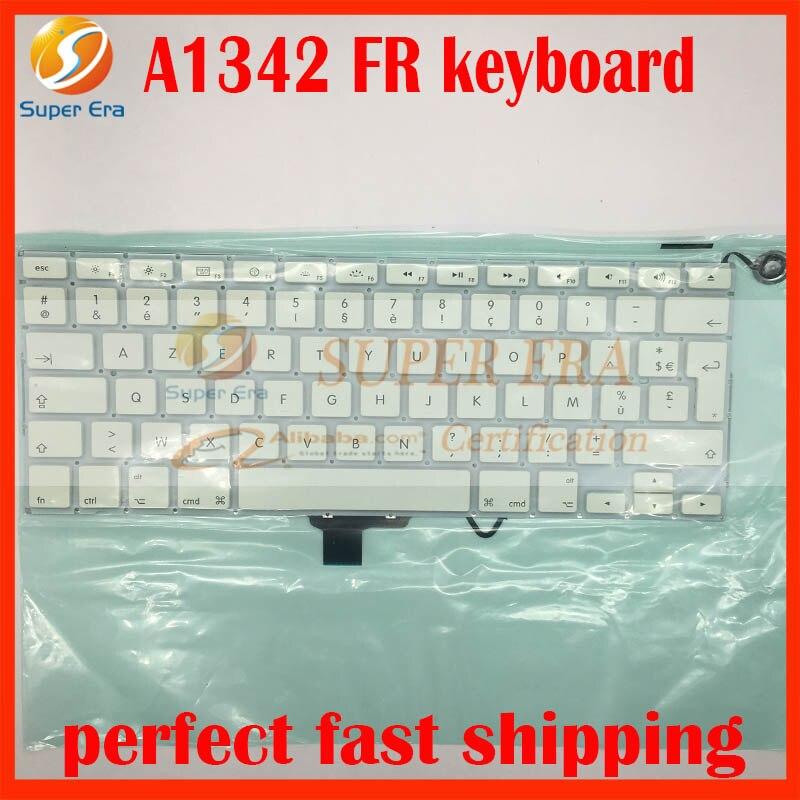 A1342 FR Frankrijk Frans toetsenbord voor macbook 13.3 A1342 2009 - Notebook accessoires