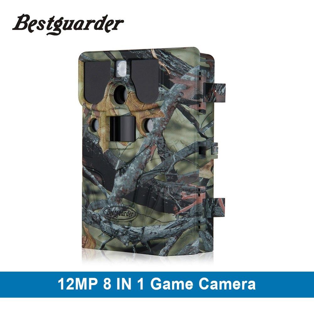 WIFI carte SD 12mp 44 pièces LED caméra de repérage infrarouge Vision nocturne chasse caméra pièges faune caméra de détection 85ft