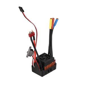 Image 4 - OCDAY contrôleur de vitesse électrique, pièces de voiture, étanche 60a RC, sans balais ESC BEC, avec 5.5V 3a BEC pour camion de voiture RC 1/10
