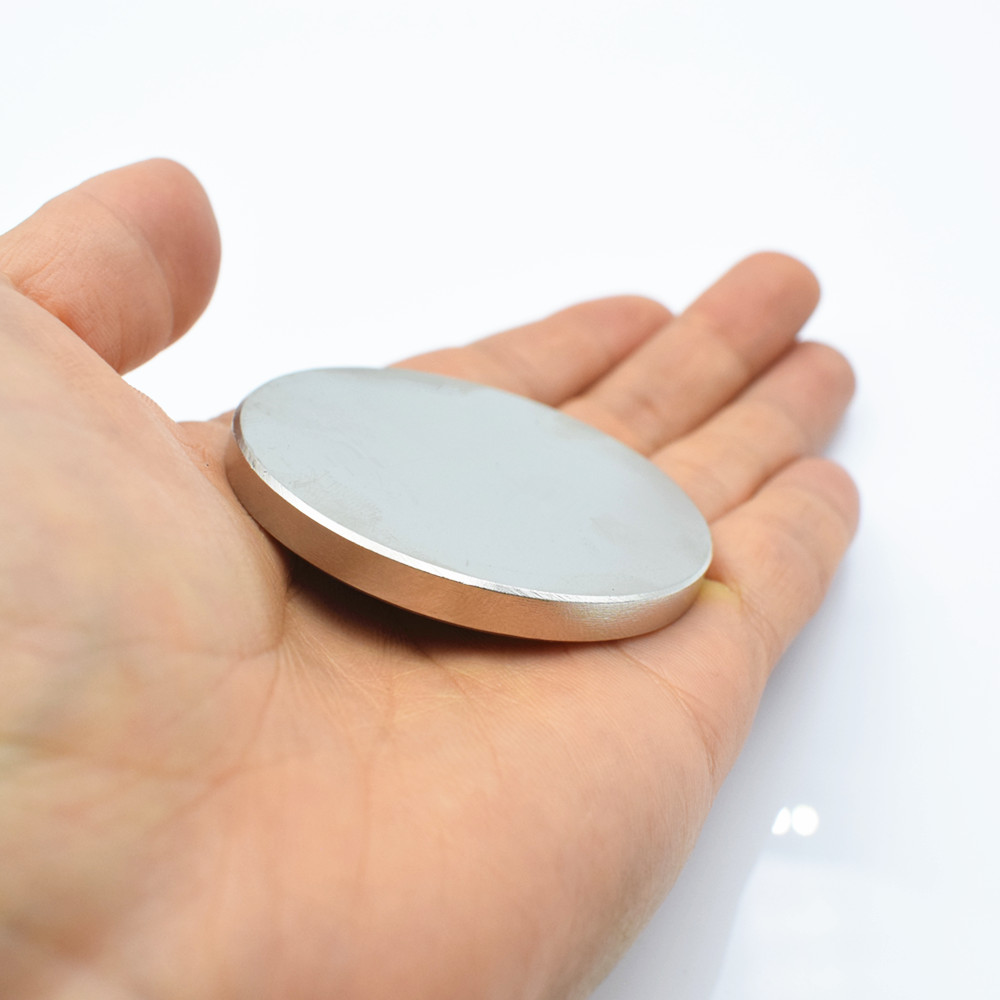 1 pcs Néodyme aimant 50x5mm N35 Super strong ronde Rare Earth NdFeb 50*5mm plus forte permanent puissant magnétique