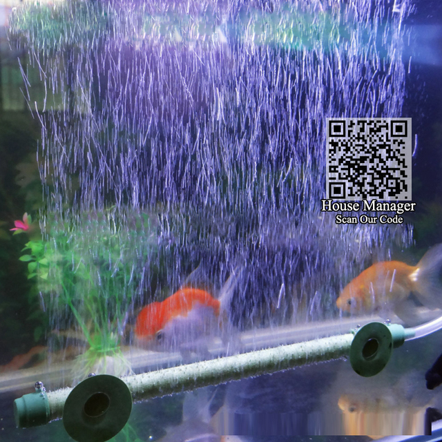 Oxygen Air Bubble Tube Diffuser for Fish Tank - Beautiful Waterscape Bubble Wall  6