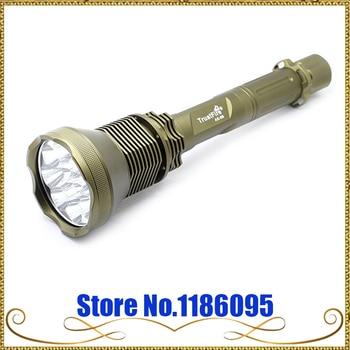 Original TrustFire AK-90 Flashlight 12* CREE XM-L T6 LED 5Mode 13000LM Flashlight For Hunting/Cycling/Camping/Night Walking