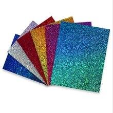 Теплопередача виниловая гладильная бумага может напечатать Скрапбукинг Бумага виниловая пленка художественный лист ремесло для DIY Футболки TJ0340-1
