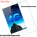 For Cube T8 T8S T8 plus 8-inch  flatbed Tempered Glass Screen Protector 2.5 9h Safety Protective Film For Cube T8 T8S T8 plus