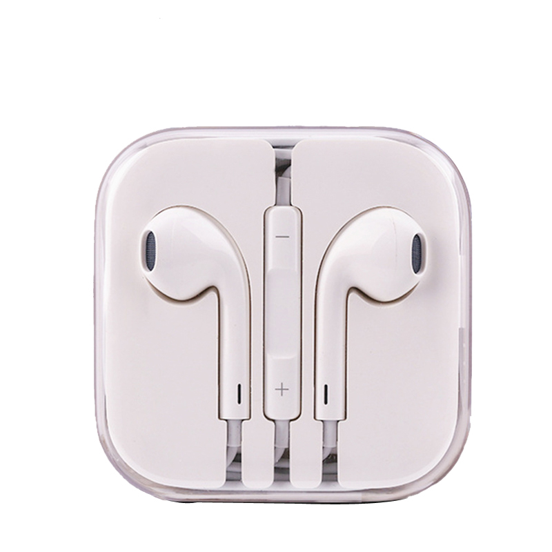 3.5mm With Mic dj In Ear Earphone Bass Subwoofer Earphone for phone xiaomi for iPhone 6 Music Sport Gaming Earphones(China)