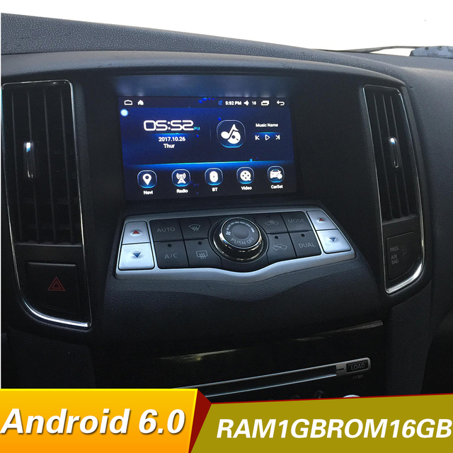 Android 6 0 Quad Core 1024 600 Car Dvd Player For Nissan Maxima A35 2009 2017 Radio Gps Stereo Bt Wifi Mirrorlink Multimedia