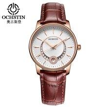 Montre femme ochstin marca señoras reloj de pulsera de moda reloj de cuarzo reloj de las mujeres vestido reloj analógico casual reloj relogio feminino