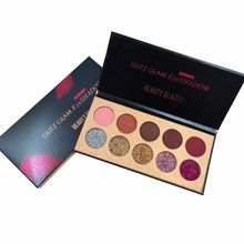 купить BEAUTY GLAZED Makeup Eyeshadow Pallete Cosmetics Natural Glitter Luminous Matte Shimmer Eye Shadow Palette Powder Waterproof NEW по цене 214.49 рублей