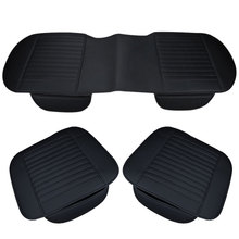 Universal Car Seat Cover Breathable PU Leather Pad Mat For Auto Chair Cushion Car Front Rear Seat Cover Cushion Anti Slip Mat