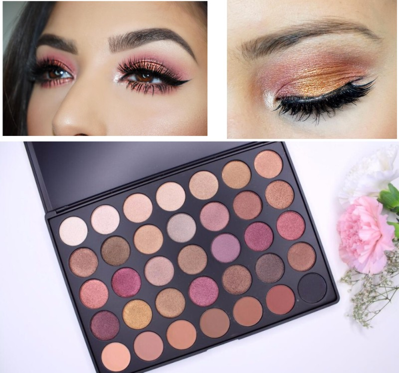 Fashion Naked Ultimate Basics Eyeshadow Palette 35 Colors Shadow Smoky Balm Makeup Cosmestics Holiday