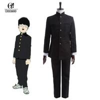ROLECOS 2016 New Anime Mob Psycho 100 Cosplay Costumes Kageyama Shigeo Japanese School Boy Uniform Jackets