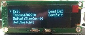 """Image 4 - Analizador de pantalla de espectro de música OLED de 2 """", amplificador de Audio MP3 para coche, indicador de nivel de Audio, Analizador de ritmo musical, pantalla grande de Medidor de VU"""