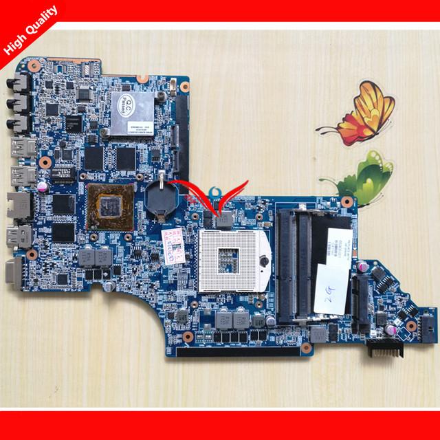 650800-001 laptop motherboard para hp pavilion dv6 dv6t dv6-6000 series placa de sistema portátil, 100% testado bom!
