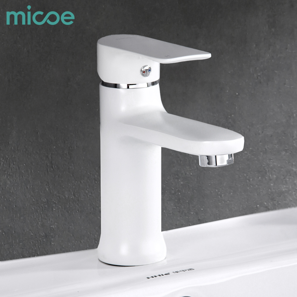 Micoe 2018 New Basin Faucet Contemporary Bathroom Faucet Painted ...
