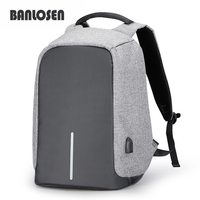 Multifunction USB Charging Men 15 6inch Laptop Backpacks For Teenager Fashion Male Mochila Leisure Travel Backpack
