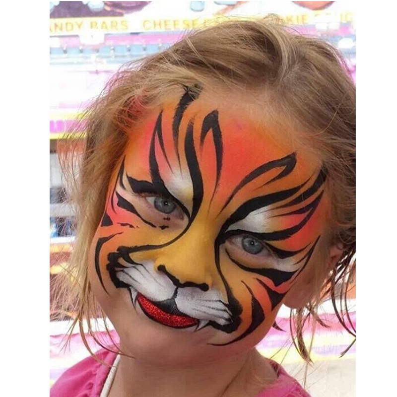 Children body paint images for Cheap face painting houston