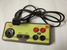 Japanese 8-bit console style 9Pin Plug Cable Controller, GamePad with Turbo A B Button