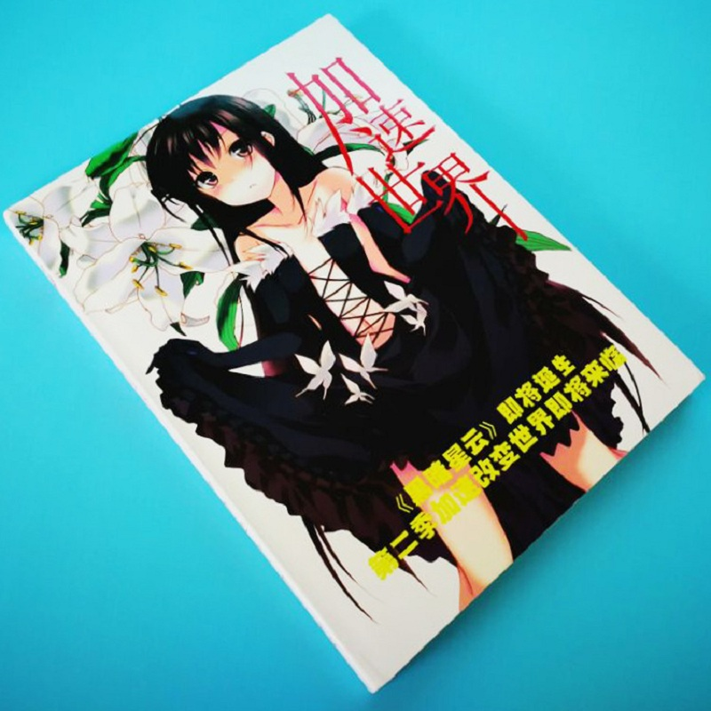 Accel World Collection Colorful Art Book Limited Edition Collector's Edition Picture Album Paintings Anime Photo Album