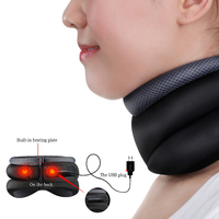 Neck Traction Massage Cervical Vertebra Pain Relief Heating Neck Air Traction Neck Soft Support Pads Relax Massager Health Care