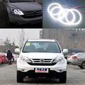 Для Honda CR-V CRV 2010 Отлично led angel eyes Ultrabright освещения smd led Angel Eyes Halo Кольцо комплект