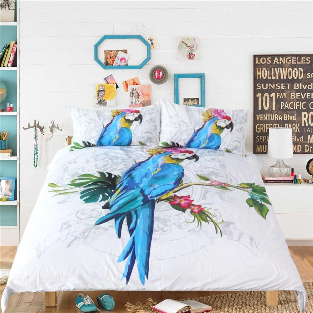 Power Source High Quality Luxury Bohemia Mandala Printing Bed Set Queen 12size Bedlinen Bedclothes Bedding Set Datura Elephant Flower Textile
