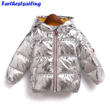 Children Winter Jackets for Boy Kids Clothes Outerwear & Coats Clothing Infant Parka Coat Girl Toddler