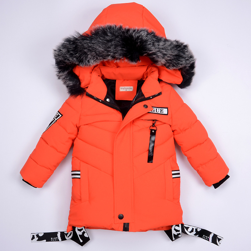 2020 New Winter Children's Single And Double Board Ski Suit Cartoon Sports Children's Down Jacket Coat Boy Outdoor Travel Down